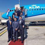 KLM sbarca in Sicilia, atterrato il primo volo Amsterdam-Catania