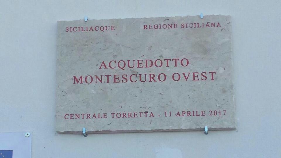 Inaugurato acquedotto Montescuro Ovest, approvvigionamento idrico per 20 Comuni