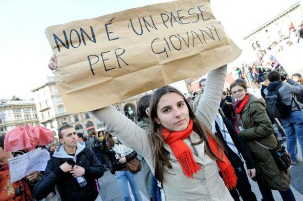 Al Sud tre volte la disoccupazione del Nord, Sicilia maglia nera