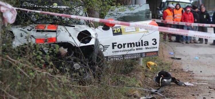 Auto esce fuori strada, tragedia alla Targa Florio: due morti, gara annullata