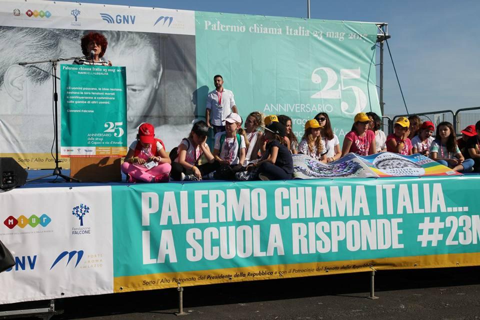 Falcone, mille studenti a Palermo su Nave legalità
