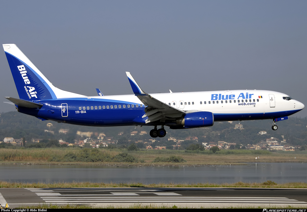 Blue Air annuncia il nuovo volo Torino-Trapani