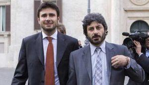 Di Battista e Fico in Sicilia per tour elettorale a sostegno dei candidati 5 stelle