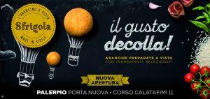 "Arancine ""a vista"" Made in Sicily: a Palermo apre Sfrigola"