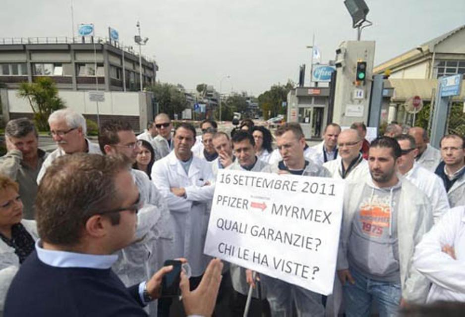 Vertenza Myrmex di Catania, lavoratori e sindacati sul piede di guerra