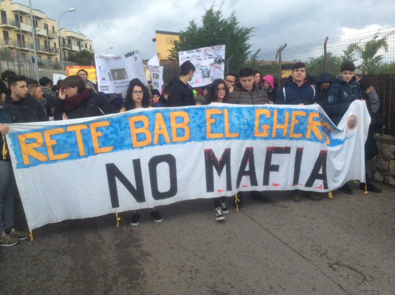 marcia antimafia Bagheria-Casteldaccia