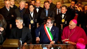"""Candelora d'oro a Fiorello: """"Catania mi ha dato la vita"""" (le foto)"""