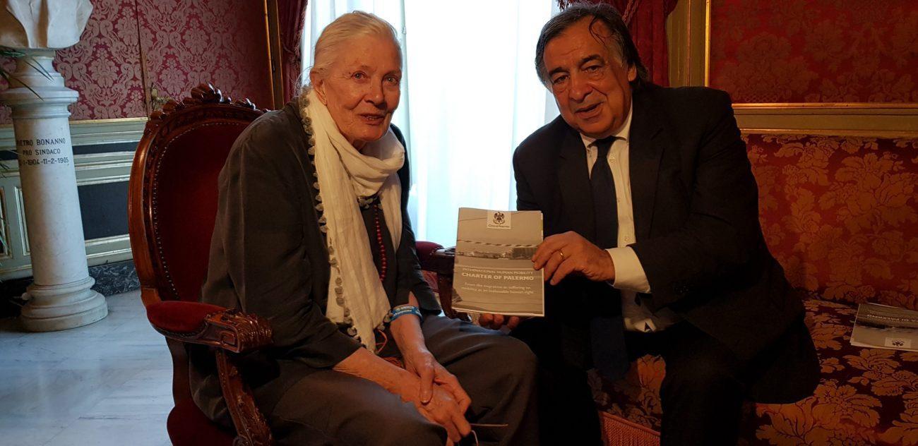 Vanessa Redgrave a Palermo per presentare il suo primo film da regista