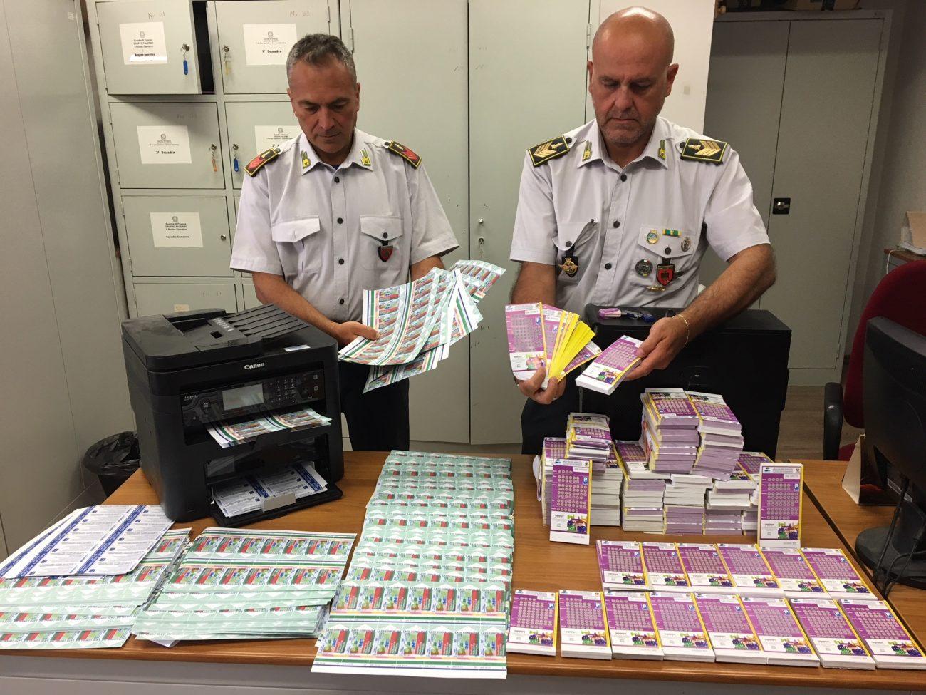 Scoperta tipografia dei biglietti falsi Amat, un arresto a Bagheria