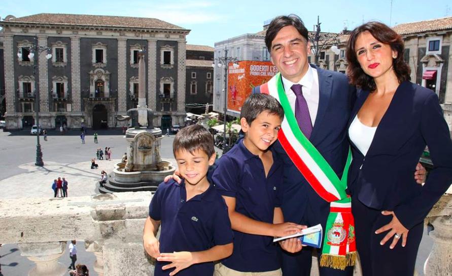 Catania, si è insediato il nuovo sindaco Salvo Pogliese