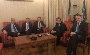 Musumeci incontra il ministro per le Politiche agricole Centinaio