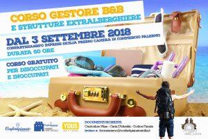 A Palermo un corso di formazione per gestori di B&B e strutture extralberghiere