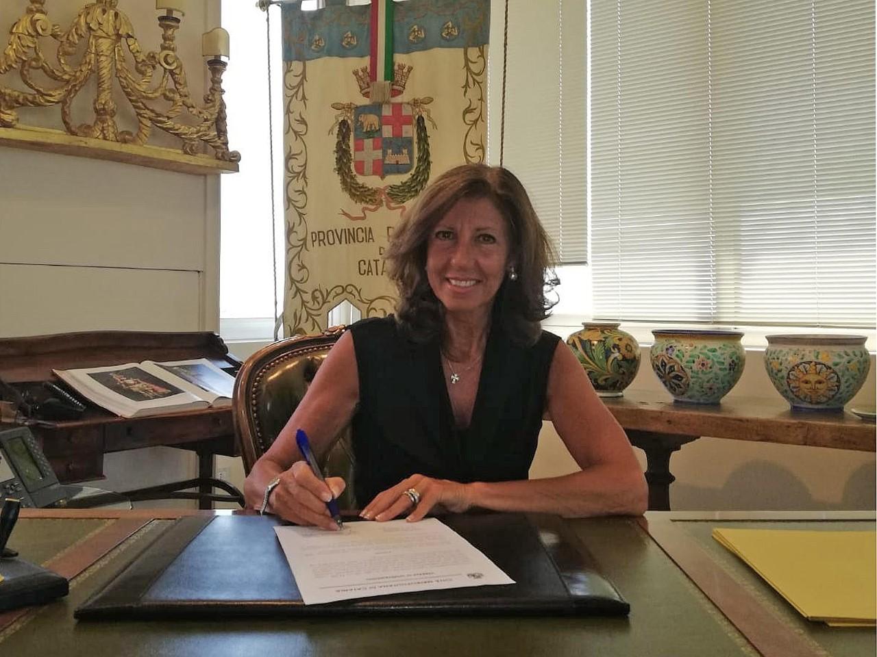 Città metropolitana di Catania, Gargano nominata commissario straordinario