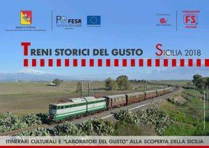 """""""Treni Storici del Gusto"""", Slow Food Sicilia realizzerà 50 laboratori"""