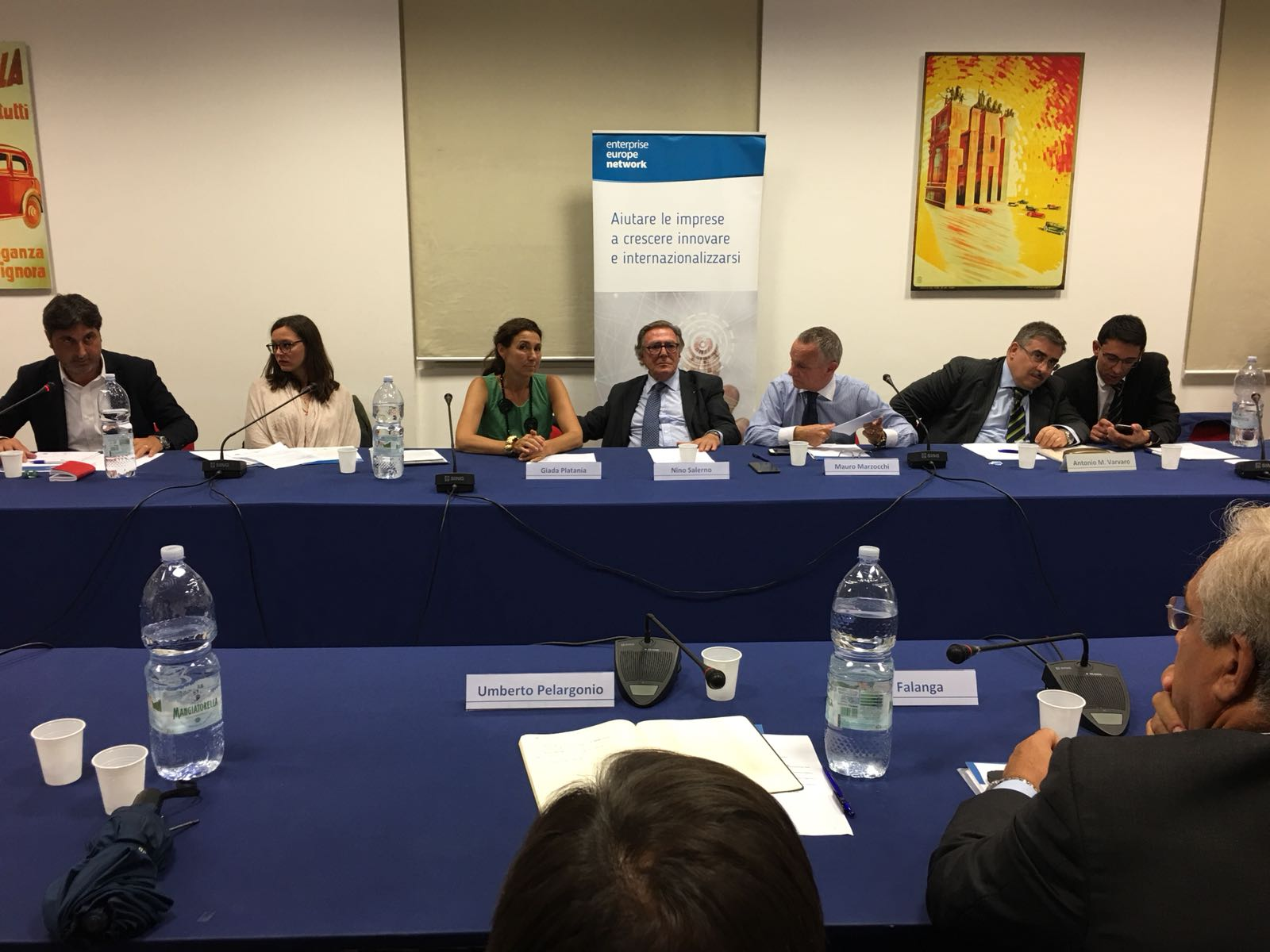 Imprese: Sicindustria sigla intesa con Camera italo-araba