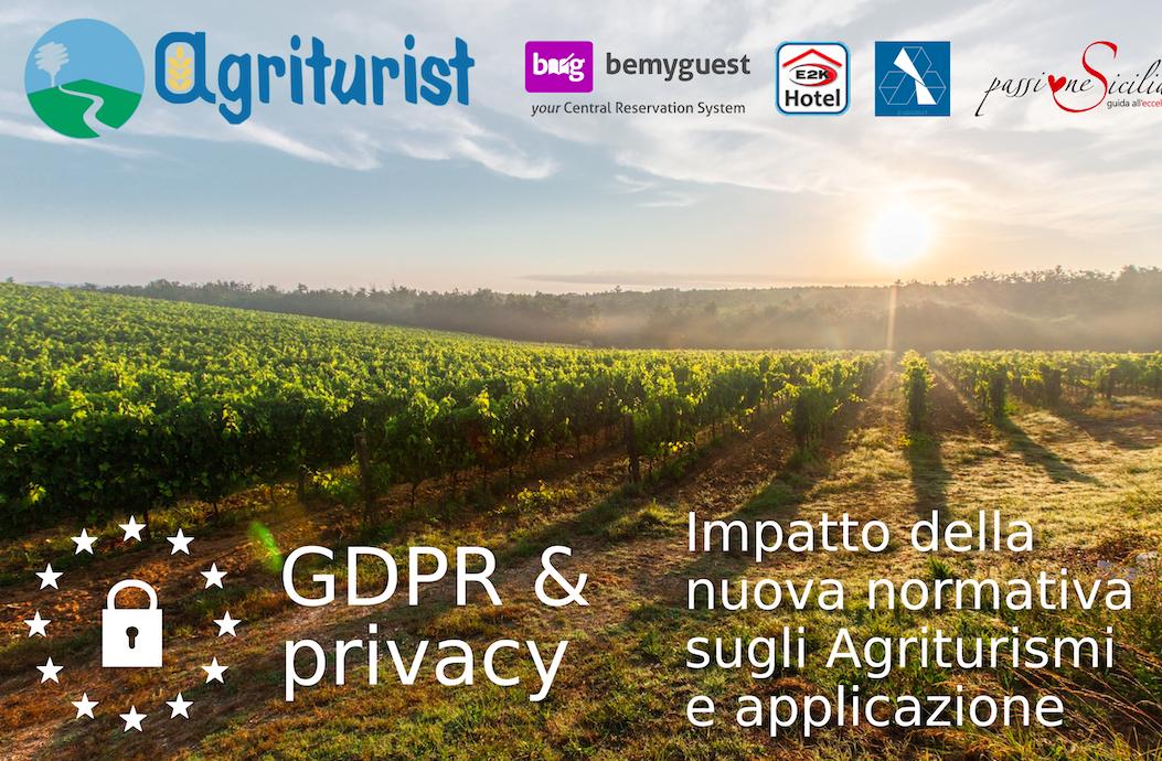 GDPR sulla ristorazione per gli agriturismi, Agriturist organizza due eventi formativi