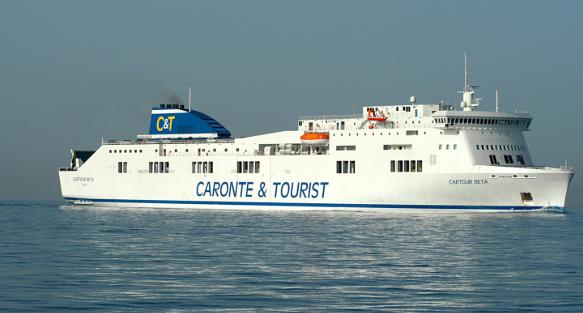 Venti milioni a Caronte&Tourist per l'acquisto di una nuova nave