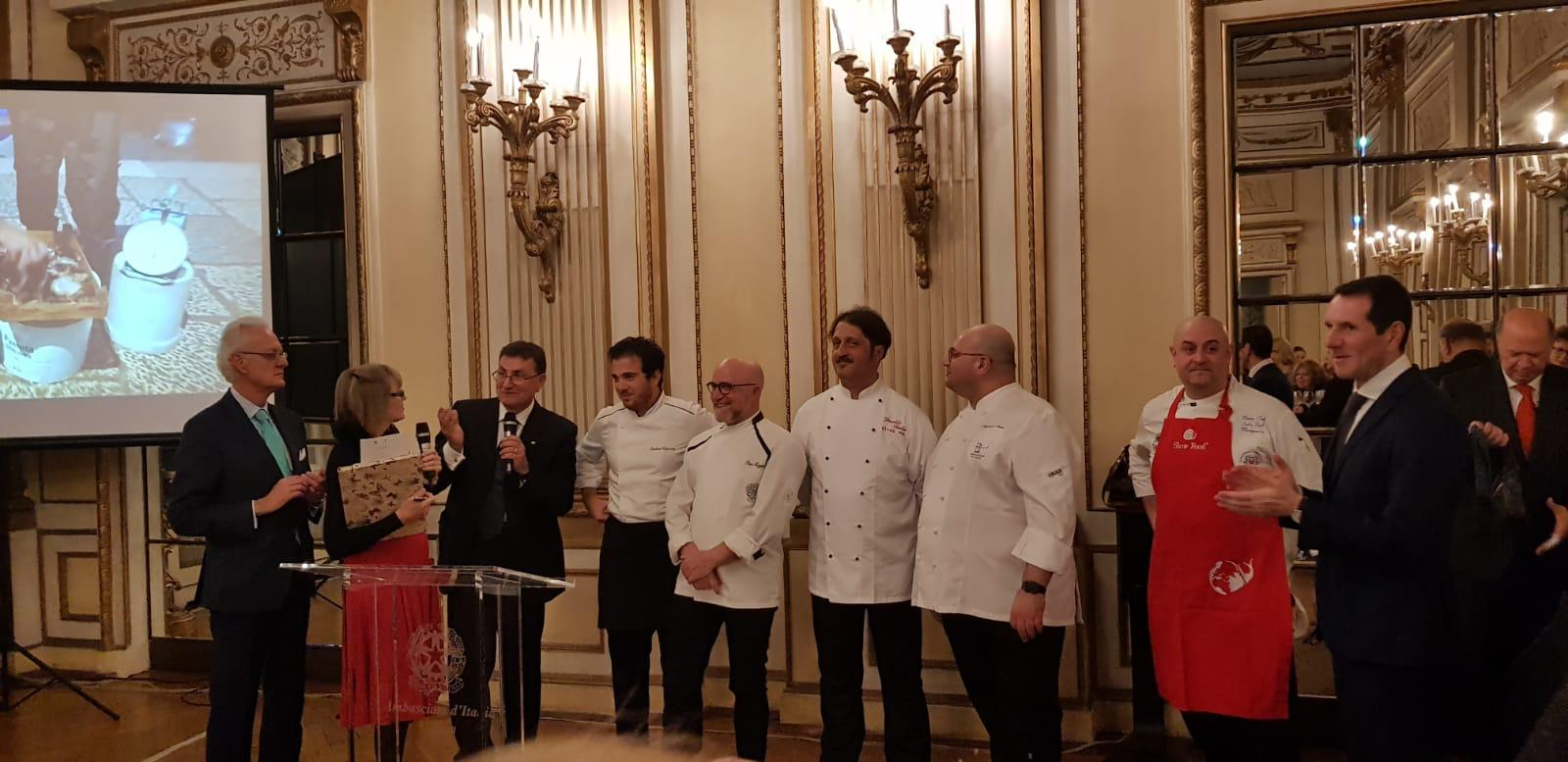 Slow Food Sicilia all'ambasciata italiana a Vienna