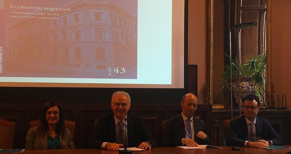 """Bankitalia: """"Si registra una moderata crescita dell'economia siciliana"""""""