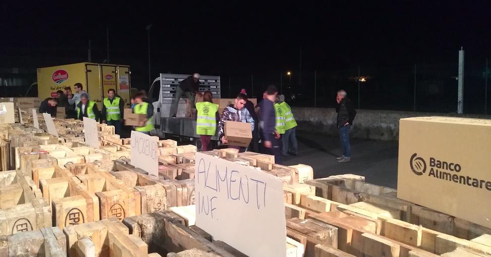 Colletta alimentare 2018, in Sicilia raccolti 889.442 pasti