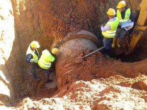 Conclusi i lavori di riparazione della condotta idrica della diga Poma