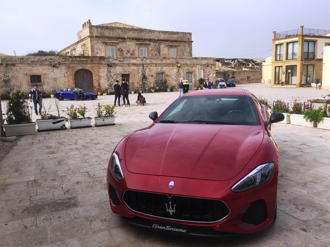 Maserati, la nuova campagna 2019 a Marzamemi