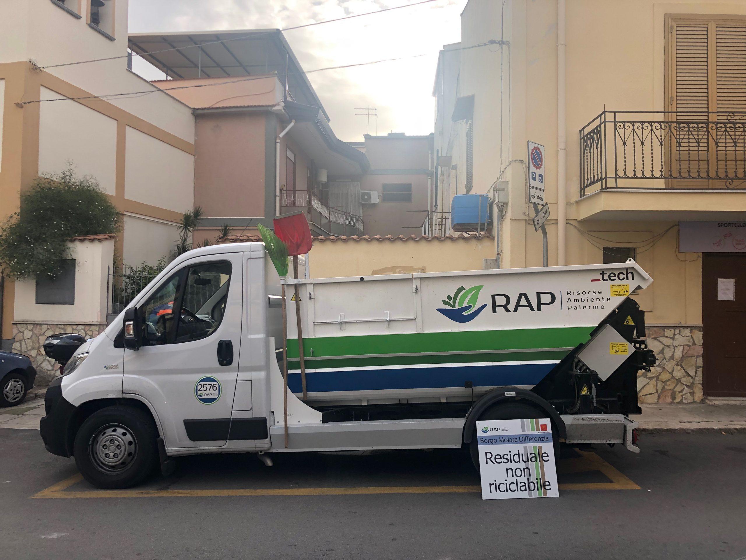Palermo, al via la raccolta differenziata a Borgo Molara Borgo Molara