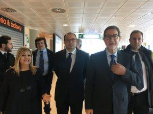 Aeroporto Trapani Birgi,  Musumeci incontra i vertici di Airgest