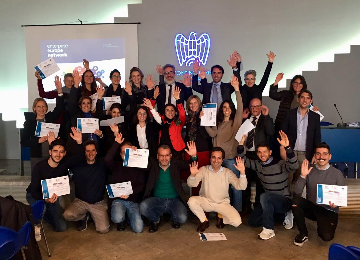 Sicindustria/Een: strategie social per vincere all'estero