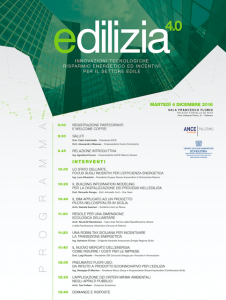 Edilizia 4.0, un confronto su innovazioni tecnologiche e risparmio energetico