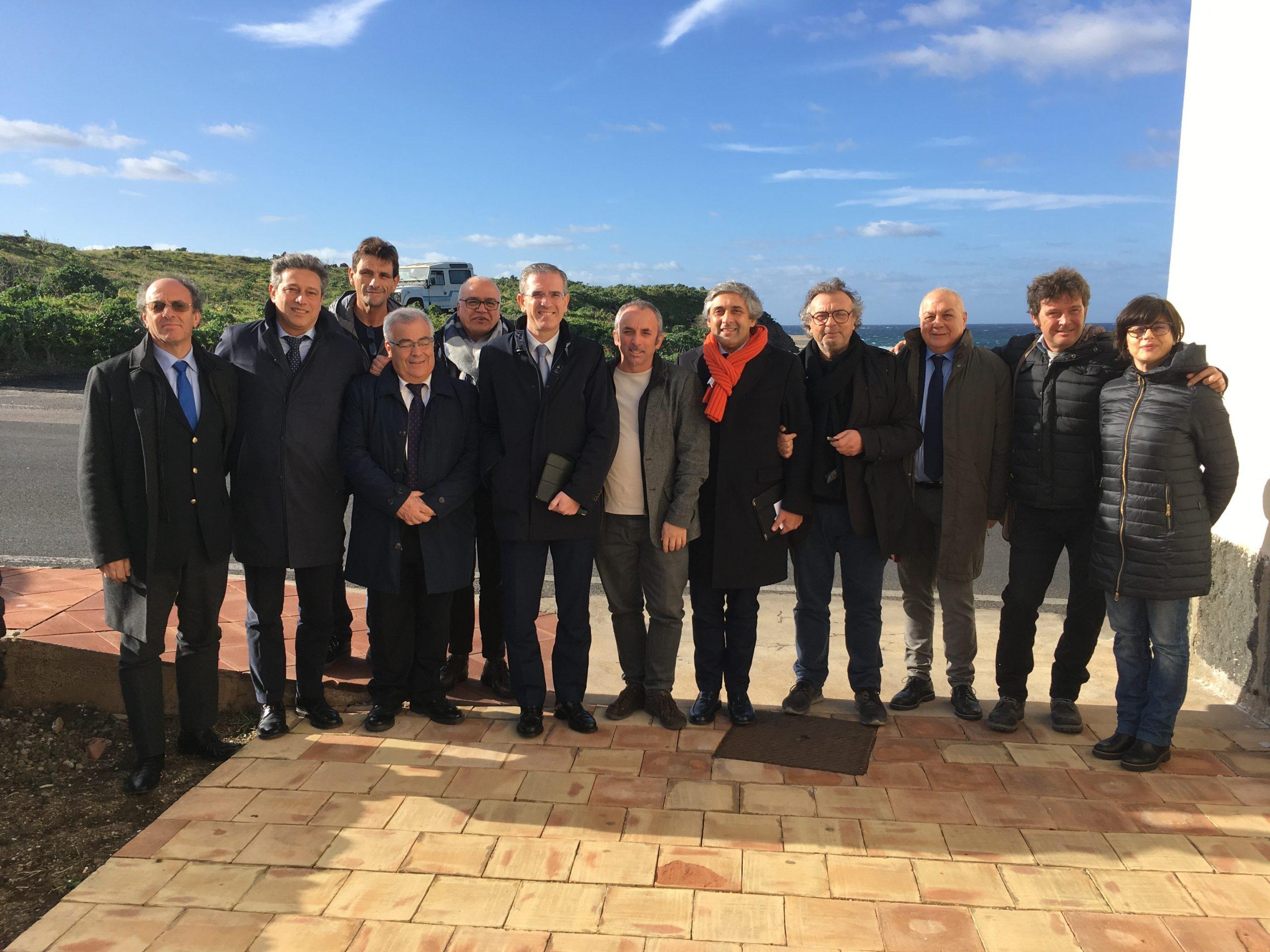 """Falcone a Pantelleria: """"I panteschi non sono meno siciliani degli altri"""""""