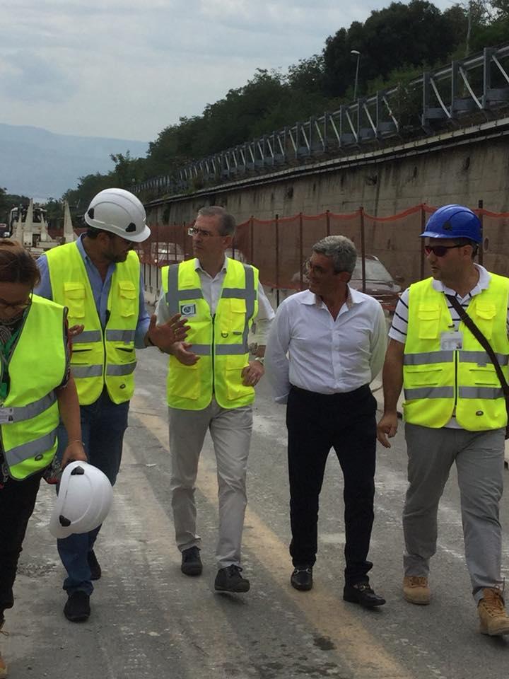 """Falcone: """"Bene visita Conte e Toninelli, adesso Sicilia attende azioni concrete"""""""