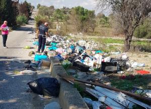 Pachino, in 3 mesi 60 mila euro di multe per abbandono dei rifiuti