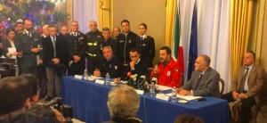 """Terremoto, Salvini a Catania: """"Etna sotto controllo. Pieni poteri ai sindaci"""""""