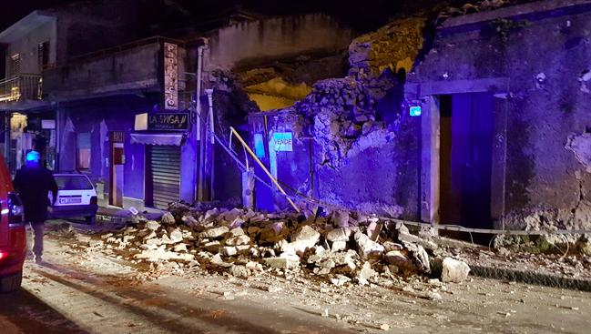 Terremoto a Catania, sei feriti ricoverati: due in codice giallo
