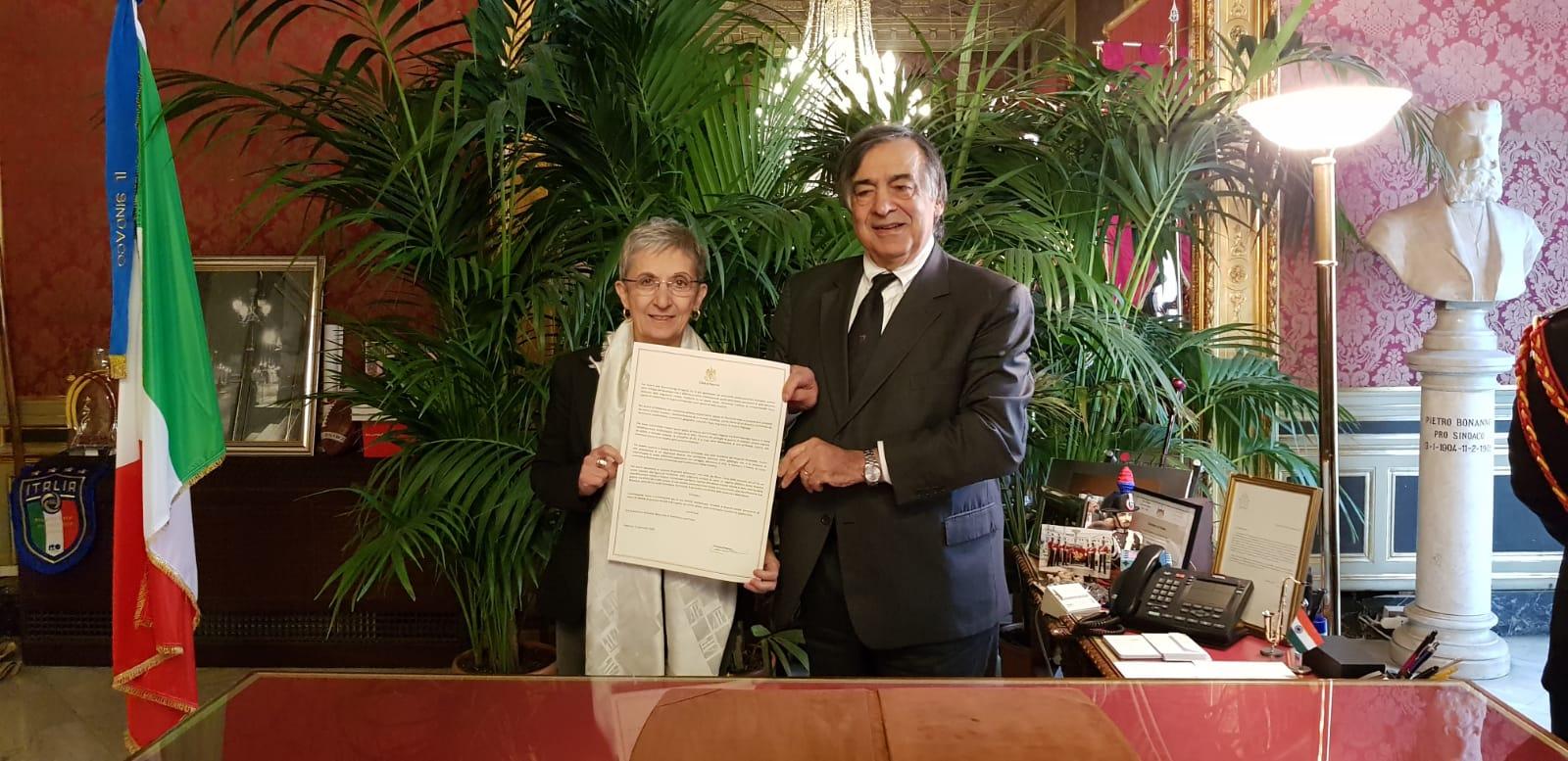 Palermo, conferita la cittadinanza onoraria a Lina Prosa