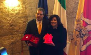 """Casellati a Palermo: """"Mediterraneo non diventi fossa comune"""""""