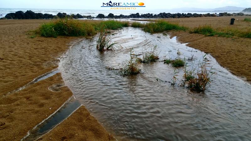 Agrigento, previsti interventi alla foce del fiume San Leone