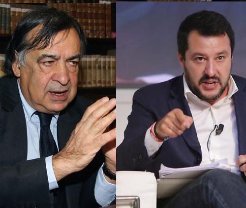 Decreto Sicurezza, scontro fra Orlando e Salvini