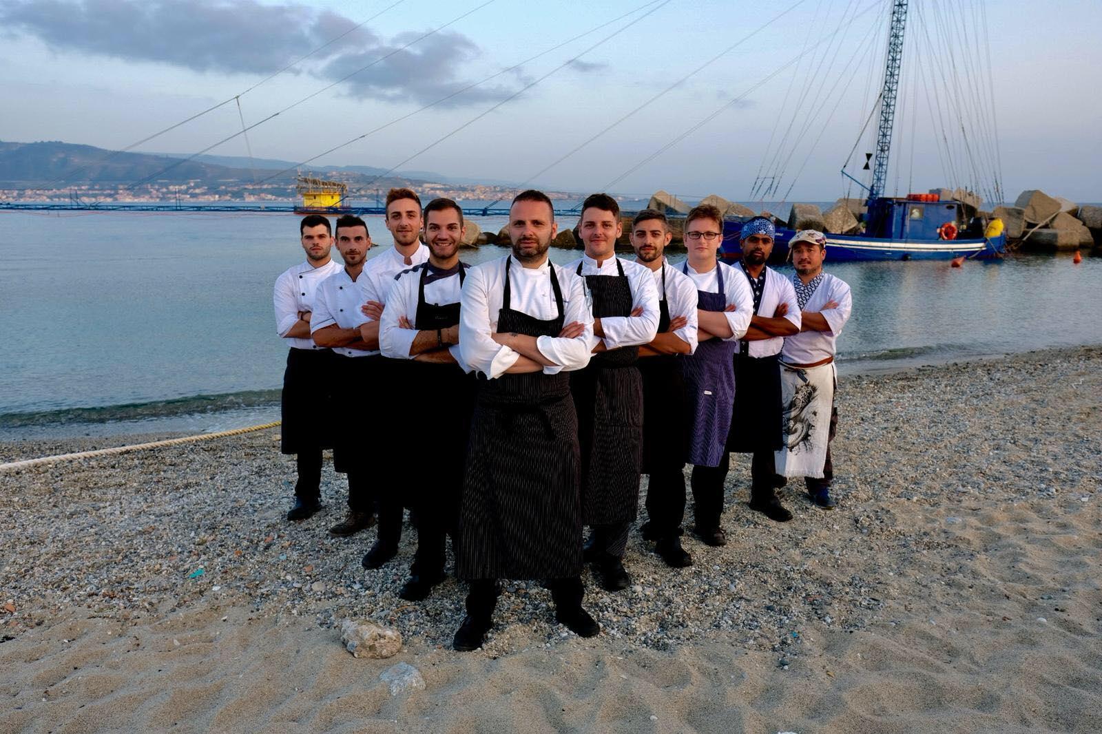 Lo chef Romeo presenta menù invernale del Ristorante Grecale Kajiki