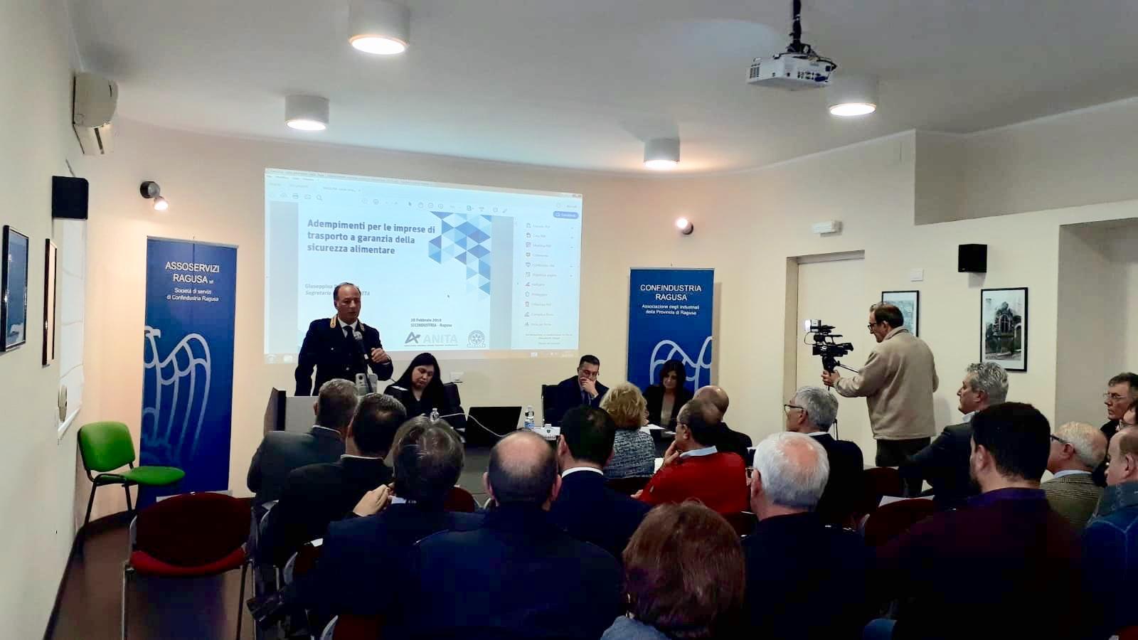 Filiera del freddo: confronto tra esperti in Sicindustria Ragusa