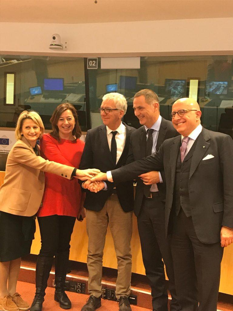 Intergruppo regionale per l'insularità, vicepresidente Armao eletto presidente Bruxelles