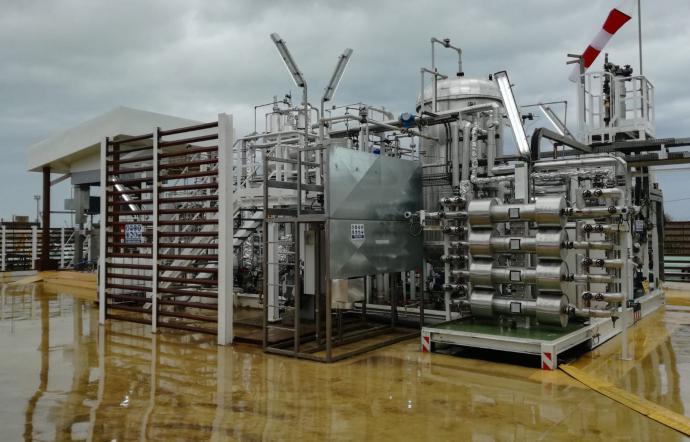 A Gela impianto di bioconversione che trasforma rifiuti in carburante