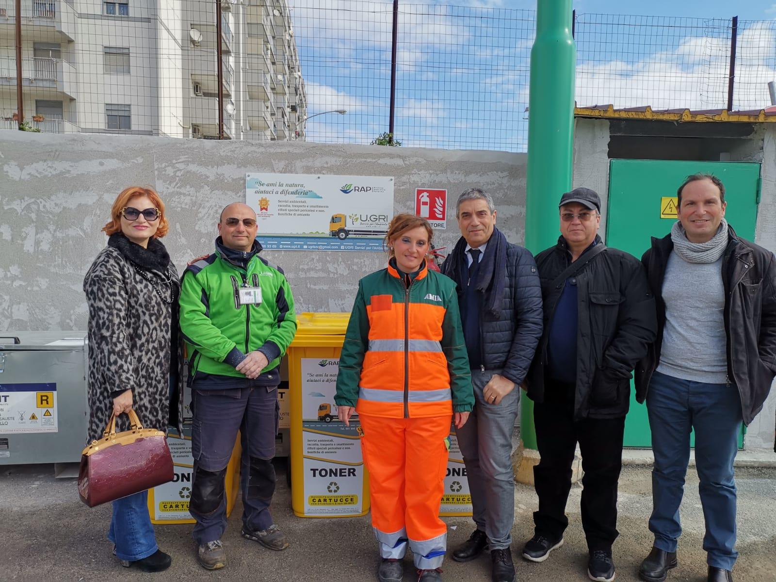 Palermo, centro comunale di raccolta raddoppia gli accessi giornalieri dei cittadini