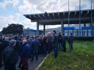 Blutec, sit-in degli operai: occupato il Comune di Termini Imerese