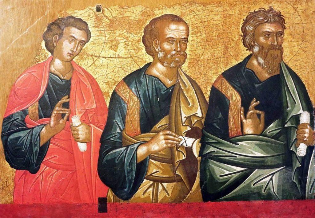 Piana degli Albanesi Deisis Apostoli Scuola cretese Tardo sec. XVII 1 1