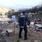 Messina, sequestrata discarica di amianto lungo il torrente Pace