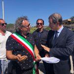 Musumeci a Linosa, stanziati sei milioni per il porto