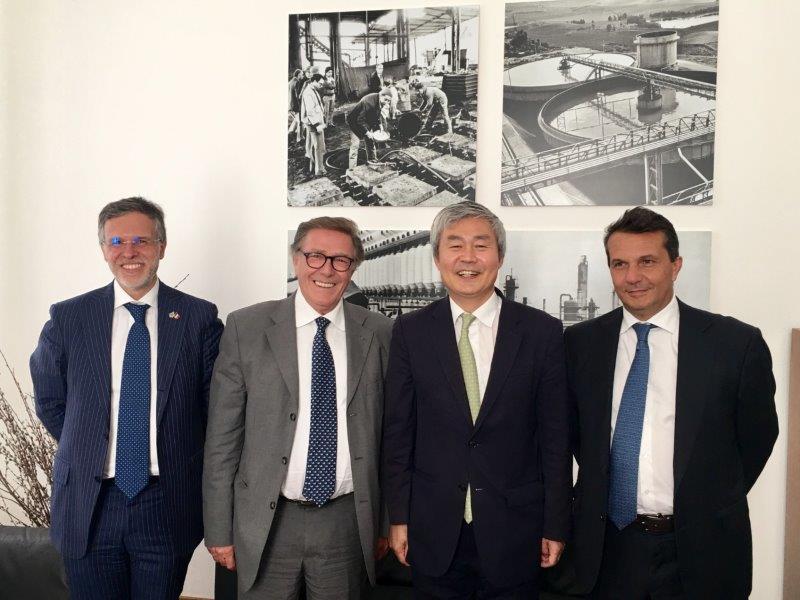 Imprese: Sicindustria incontra l'ambasciatore della Corea del Sud