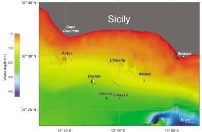 Sicilia, nuovi vulcani sottomarini a poca distanza dalle coste